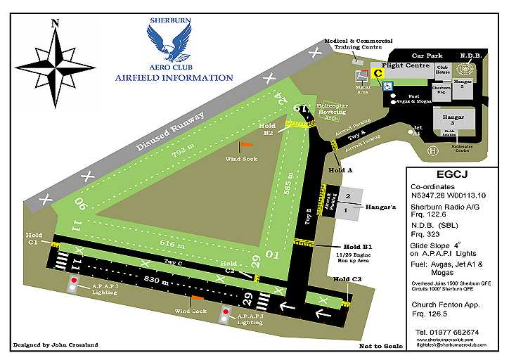 SAC Airfield map