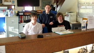 Sherburn flight desk