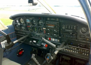 PA28 Cockpit Instrument View