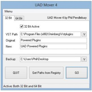 UAD Mover