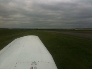 Parked at Sherburn