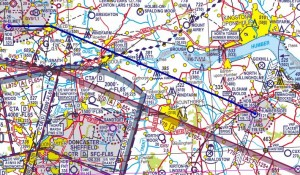 Planned Track from Sherburn to Humberside