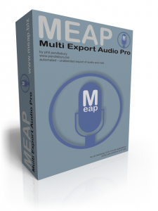MEAP - Multi Export Audio Pro
