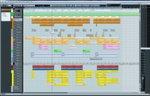 The Full Project in Cubase 6.5