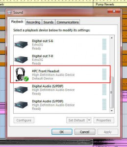 Windows Sounds Playback